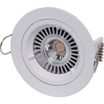 X2000D White MR16 Fixed Downlight Light Fitting