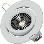 X2002A White MR16 Gimbal Downlight Light Fitting