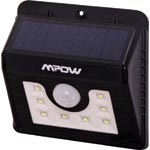 X2380 8 LED Weatherproof IP65 Solar PIR Light