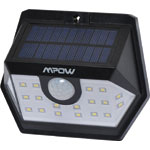 X2381A 20 LED Weatherproof IP65 Solar PIR Light