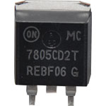 Y0908 MC7805CD2T D2PAK