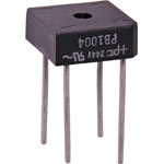 Z0085A PB1004 400V 10A Plastic Bridge Rectifier