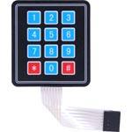 Z6341 3x4 Numeric Membrane Keypad Module