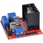 Z6442 L298N Dual Motor Module for Arduino