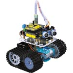 Z6450 Avoidance Smart Tank Robot Kit With Bluetooth