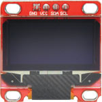 Z6525 128x64 Monochrome 0.96 Inch I2C OLED Display Module