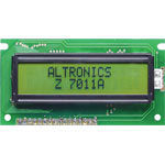 Z7011A 16x2 Wide Angle Green LED Backlit Alphanumeric LCD