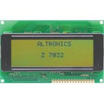 Z7032 20x4 Wide Angle Green LED Backlit Alphanumeric LCD